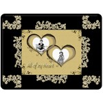 All of my Heart Golden Memories Extra Large Fleece - Fleece Blanket (Large)