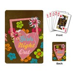 Girls Night Out-playing cards - Playing Cards Single Design
