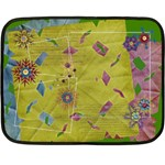 Family Holiday-Mini Fleece Blanket  - Fleece Blanket (Mini)