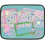 Slumber Party-Mini Fleece Blanket
