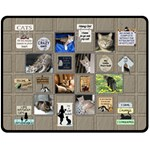 My Cats Medium Fleece Blanket - Fleece Blanket (Medium)