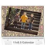 2011 Calendar-me - Wall Calendar 11  x 8.5  (12-Months)