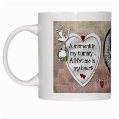 A Moment In My Tummy Mug By Lil    White Mug   Cqfq6h1coz3r   Www Artscow Com Left