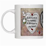 A Moment in my Tummy Mug - White Mug