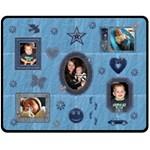 Little Boy Blue Medium Fleece Blanket - Fleece Blanket (Medium)