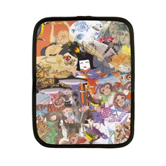 Colourful Collage Netbook Case (Small) by kewzooA
