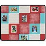 Squared Medium Blanket - Fleece Blanket (Medium)