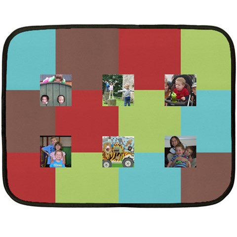 Mini Squared By Albums To Remember   Fleece Blanket (mini)   Wkrv2cww843h   Www Artscow Com 35 x27 Blanket