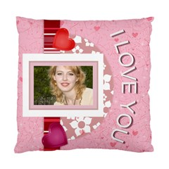 Love You By Joely   Standard Cushion Case (two Sides)   Bwxdf9ik12yj   Www Artscow Com Front