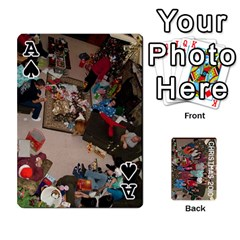 Ace Christmas 2010 Cards  By Cheri   Playing Cards 54 Designs   4nzj8p1f6f6c   Www Artscow Com Front - SpadeA