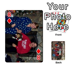 Christmas 2010 Cards  By Cheri   Playing Cards 54 Designs   4nzj8p1f6f6c   Www Artscow Com Front - Diamond8