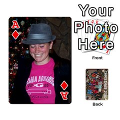 Ace Christmas 2010 Cards  By Cheri   Playing Cards 54 Designs   4nzj8p1f6f6c   Www Artscow Com Front - DiamondA