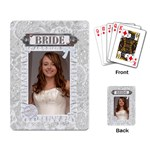 Bride Playing Cards - Playing Cards Single Design