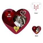 Be Mine - Valentine Heart Playing Cards - Playing Cards (Heart)