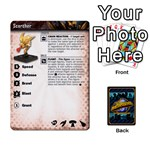 Planet Eaters and Buildings through 3-2 - Playing Cards 54 Designs