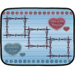 Endless Love blanket - Mini Fleece Blanket