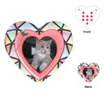 Stained Glass Heart Playing Cards - Playing Cards (Heart)