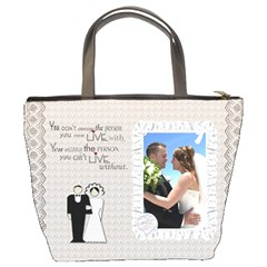Wedding Bucket Bag By Lil    Bucket Bag   Cg1hv2stbl1r   Www Artscow Com Back