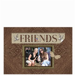 Friends Brown Bucket Bag By Lil    Bucket Bag   Fou8dw9whitt   Www Artscow Com Front