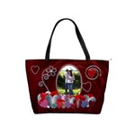 Red Hearts Classic Shoulder Handbag
