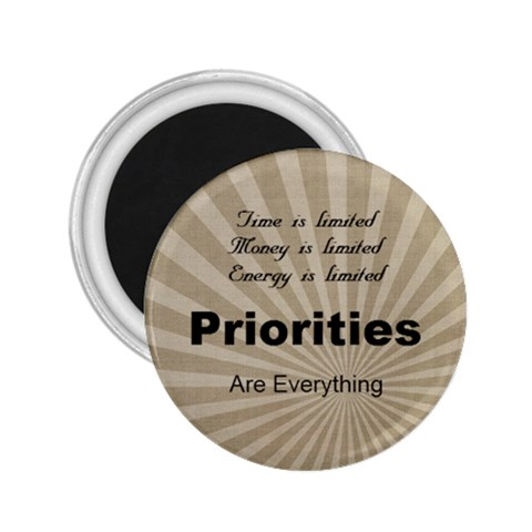 Priorities 2 25 By Debra Macv   2 25  Magnet   Dpccq4pwgr7v   Www Artscow Com Front