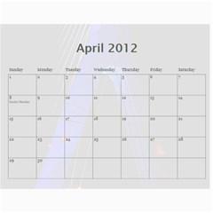 Vanna s Calendar By Leandra   Wall Calendar 11  X 8 5  (18 Months)   L6gh8yume5qa   Www Artscow Com Apr 2012