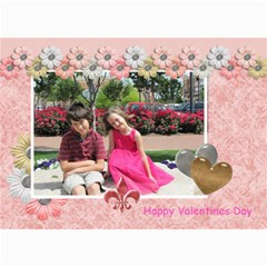 Amore Valentines Card By Lisa Minor   5  X 7  Photo Cards   Er5odjklnbyz   Www Artscow Com 7 x5 Photo Card - 1