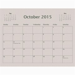 A Family Story Calendar 12m By Daniela   Wall Calendar 11  X 8 5  (12 Months)   Fw6ptz2lv4ar   Www Artscow Com Oct 2015