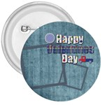 Valentines Day Button 2 - 3  Button