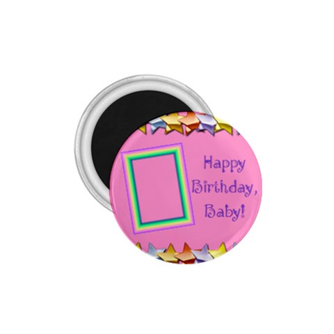 Happy Birthday Girls Magnet 1 75 By Daniela   1 75  Magnet   Nt8ffu8cympm   Www Artscow Com Front