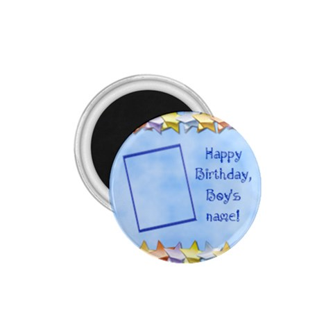 Happy Birthday Boys Magnet 1 75 By Daniela   1 75  Magnet   1rkldwr2uk52   Www Artscow Com Front