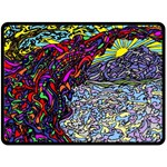 Rainbow Bridge - Fleece Blanket (Large)
