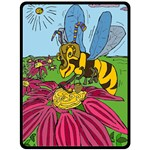 Bee World - Fleece Blanket (Extra Large)