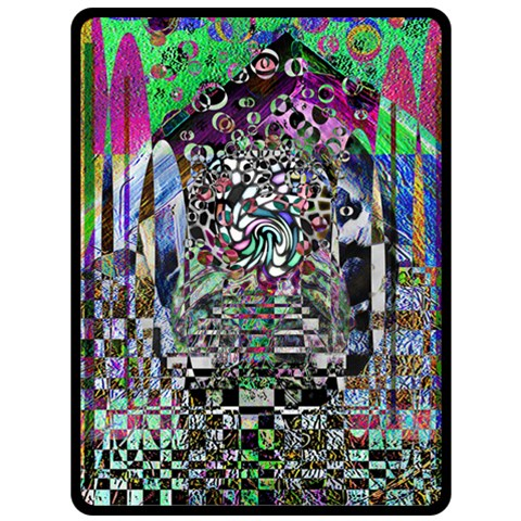 Alien Monument By Alienjunkyard   Fleece Blanket (large)   Jmmztbauu5um   Www Artscow Com 80 x60 Blanket Front