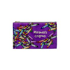 Miranda Bag For Crayons By Debra Macv   Cosmetic Bag (small)   6mmnan2zb7tk   Www Artscow Com Front