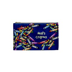 Neal Bag For Crayons By Debra Macv   Cosmetic Bag (small)   5ihjpwg7w3ia   Www Artscow Com Front