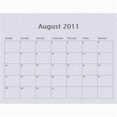 2011 Calendar By Tammy   Wall Calendar 11  X 8 5  (12 Months)   2v83081owcuv   Www Artscow Com Aug 2011