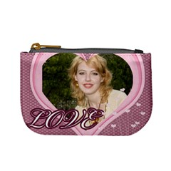 I Love  U By Joely   Mini Coin Purse   Za118zgmjbk9   Www Artscow Com Front