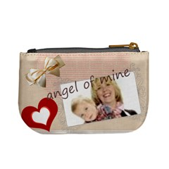 Angel Of Mine By Joely   Mini Coin Purse   Zs36rxdil5uh   Www Artscow Com Back