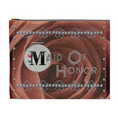 Pretty Maid Of Honor Xl Cosmetic Bag By Lil    Cosmetic Bag (xl)   Jmqqofg2p12l   Www Artscow Com Front