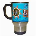 crew travel mug- vday gift - Travel Mug (White)