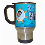 scott travel mug summer - Travel Mug (White)