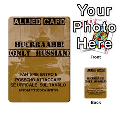 Iasbm Allied By Abikapi2   Multi Purpose Cards (rectangle)   4umflxo5uh53   Www Artscow Com Front 34
