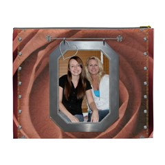 Mother Of The Bride Xl Cosmetic Bag By Lil    Cosmetic Bag (xl)   C00u1rsu1d0b   Www Artscow Com Back