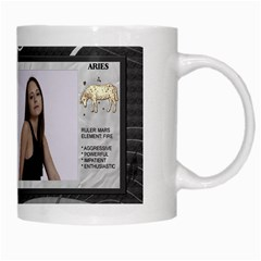 Aries Zodiac Mug By Lil    White Mug   Dbf9rcy624ib   Www Artscow Com Right