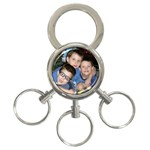 Three kings - three rings - 3-Ring Key Chain