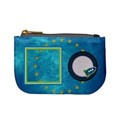 A Space Story Coin Bag 1 By Lisa Minor   Mini Coin Purse   Ol6n6nyrb45b   Www Artscow Com Front