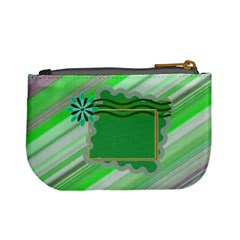 Greeny Coin Purse By Daniela   Mini Coin Purse   Prtrbbvc3vzv   Www Artscow Com Back