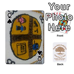 Queen Family Reunion 5 5 By Tomika Holmes   Playing Cards 54 Designs   Iya9scg8s178   Www Artscow Com Front - SpadeQ