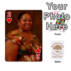 Family Reunion 5 5 By Tomika Holmes   Playing Cards 54 Designs   Iya9scg8s178   Www Artscow Com Front - Heart2